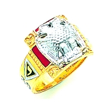 Scottish Rite Masonic Ring - MAS1704SR