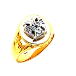 Scottish Rite Masonic Ring - MAS1829SR