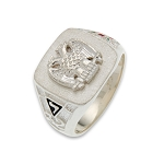 Scottish Rite Masonic Ring - MASCJ666SR