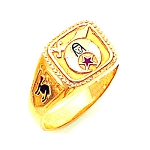 Shriner Masonic Ring - GLC977SH