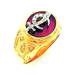 Shriner Masonic Ring - HOM298SH