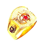 Shriner Masonic Ring - HOM441SH