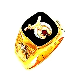 Shriner Masonic Ring - HOM492SH