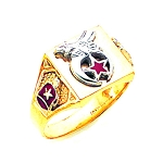 Shriner Masonic Ring - MAS1692SH