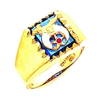 Shriner Masonic Ring - MAS60436SH