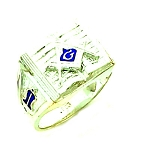 Blue Lodge Masonic Ring - MASCJ603