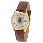 Blue Lodge Masonic Leather Watch - MSW300(Cognac)