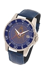 Blue Lodge Masonic Leather Watch - MSW369(Blue)