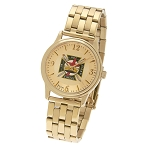 Bulova Knights Templar Gold Fold Over Watch MSW261B