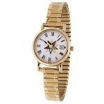 Order of the Eastern Star Gold Expansion Watch MSW120F
