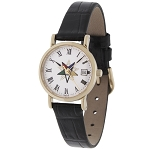 Order of the Eastern Star Leather Watch MSW120
