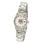Bulova Order of the Eastern Star Silver Fold Over Watch MSW124
