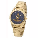 Bulova Past Master Gold Expansion Watch MSW312F