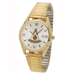 Bulova Past Master Gold Expansion Watch MSW313F