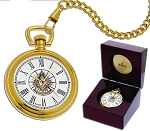 Past Master Masonic Pocket Watch - MSW47