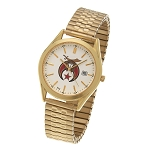 Bulova Shriner Gold Expansion Watch MSW75F