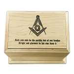 Square & Compass Masonic Funeral Urn