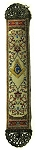 Square & Compass Beige Tapestry Masonic Bookmark - [9'' x 2'']
