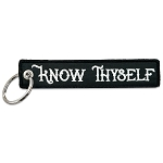 Know Thyself Masonic Embroidered Key Chain - 5 1/2