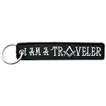 I Am a Traveler Masonic Embroidered Key Chain - 5 1/2