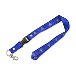 Square & Compass Masonic Lanyard - [Blue & Gold][20 1/2'' Long]