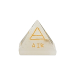 Crystal Quartz Alchemical Four Element Stone Pyramid