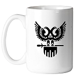 32nd Degree Double Headed Eagle (Wings Up) Scottish Rite 11 oz. Coffee Mug