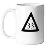 33rd Degree Triangle 11 oz. Coffee Mug