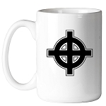 Celtic Cross Masonic Coffee Mug - [11 oz.]