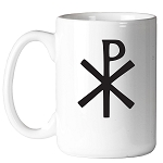 Early Christian Cross Masonic Coffee Mug - [11 oz.]