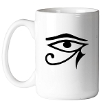 Eye of Horus Masonic Coffee Mug - [11 oz.]