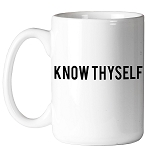 Know Thyself Masonic Coffee Mug - [11 oz.]