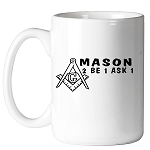 Mason 2B1ASK1 11 oz. Coffee Mug