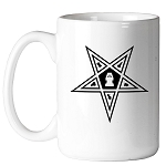 Order of the Eastern Star Masonic Coffee Mug - [11 oz.]