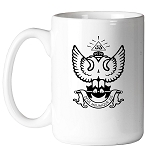 Deus Meumque Jus 33rd Degree Double Headed Eagle Scottish Rite 11 oz. Coffee Mug