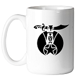 Shriner 11 oz. Coffee Mug