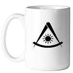Simple Past Master 11 oz. Coffee Mug