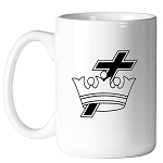 Knights Templar Cross & Crown 11 oz. Coffee Mug