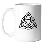 Celtic Triquetra Masonic Coffee Mug - [11 oz.]