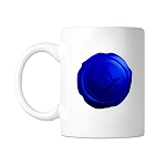 Square & Compass Wax Seal Masonic Coffee Mug - [11 oz.]
