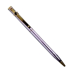 Square & Compass Silver Masonic Ball Point Pen