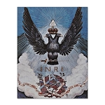 33rd Degree Double Headed Eagle Scottish Rite Postcard