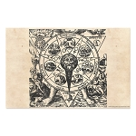 Azoth Alchemical Art Esoteric Poster - [11'' x 17'']