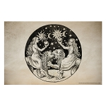 Conjunction Alchemical Art Esoteric Poster - [11'' x 17'']