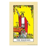 The Magician Tarot Card Poster - [11'' x 17'']