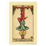 The Hanged Man Tarot Card Poster - [11