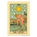 The Star Tarot Card Poster - [11'' x 17'']