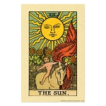 The Sun Tarot Card Poster - [11