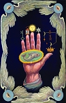 The Hand of the Mysteries Masonic Poster - [11'' x 17'']