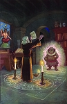 The Invocation of Mephistopheles Masonic Poster - [11'' x 17'']